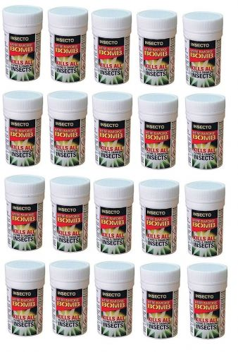 Carpet Moth Mini Fumigation Smoke Bombs x 20